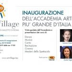 RTR 99 radio partner di Art Village ti invita all'inaugurazione