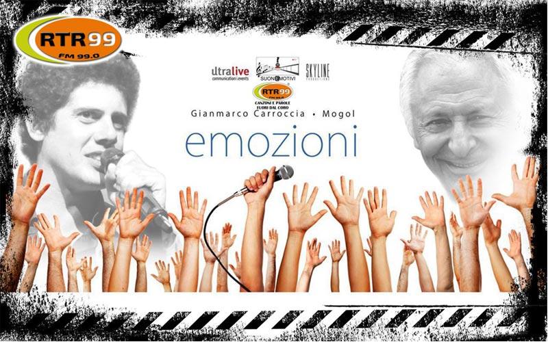 """""""Emozioni"""" all'Auditorium Parco della Musica con Fabio Martini e Mogol"""