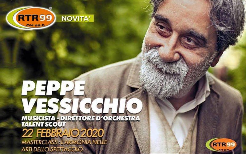 Peppe Vessicchio all'Art Village di Roma. Masterclass sull'armonia nelle arti dello spettacolo