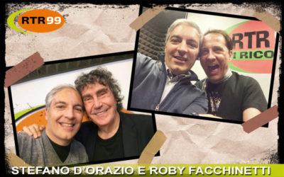 Lunedì 30 marzo collegamento straordinario in diretta con Roby Facchinetti e Stefano D'Orazio