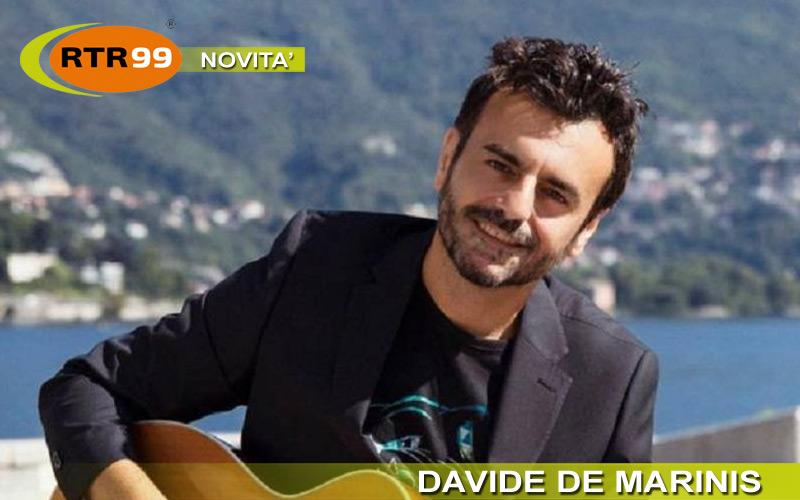 """L'unione fa la forza. Andrà tutto bene #iorestoacasa è la nuova canzone scritta da Davide De Marinis e sostenuta da """"Gli amici di Davide"""""""