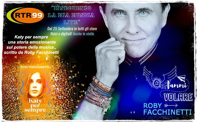 Roby Facchinetti in diretta su RTR 99