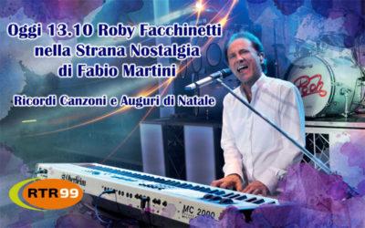 Roby Facchinetti in diretta telefonica con RTR 99