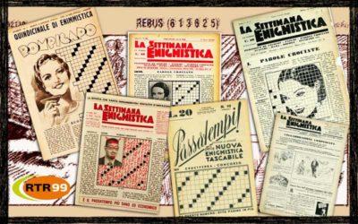 Il 23 Gennaio 1932 nasce La Settimana Enigmistica
