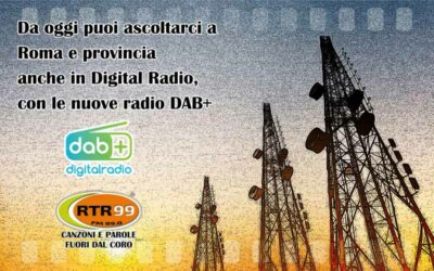 Ascolta RTR 99 anche in DAB+